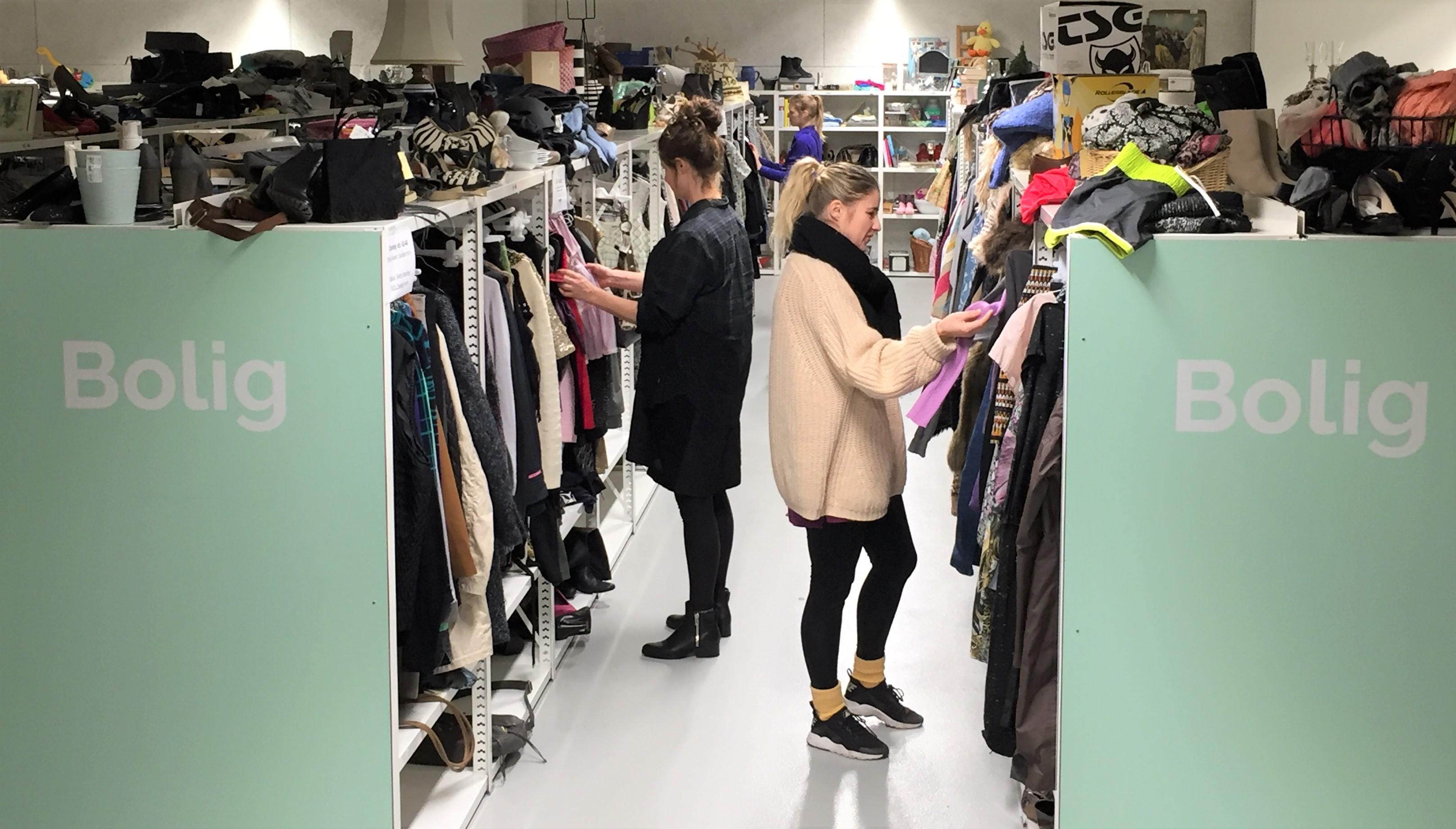 sælg dit tøj